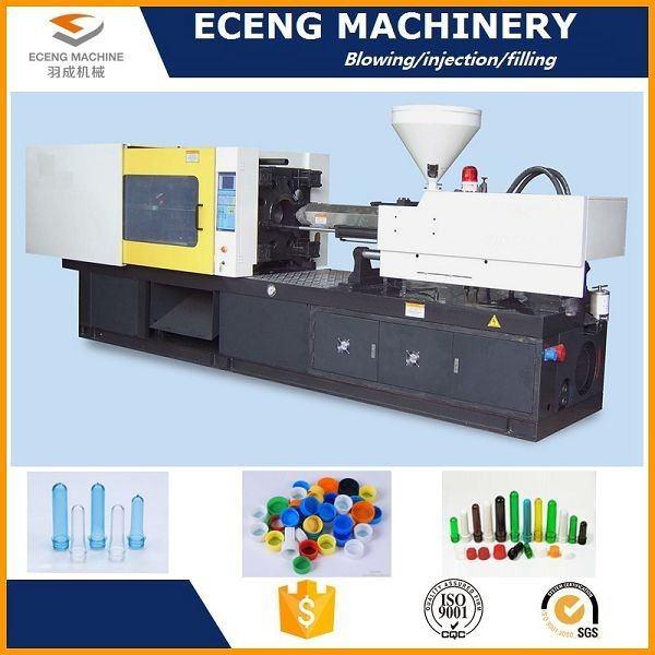 Screw Driving Plastic Bottle Blowing Machine , Plastic Bottle Blowing Machine
